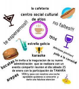 INAUGURACIÓN CAFETERÍA @ Centro cultural de Atios